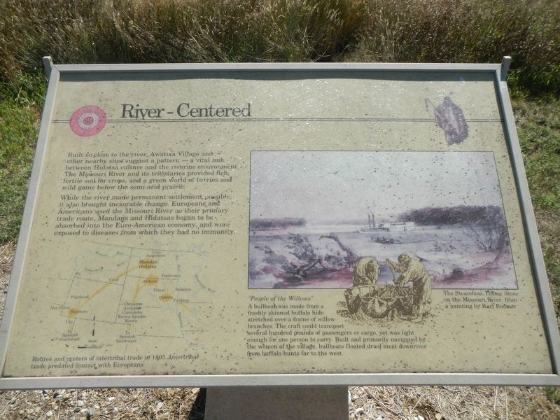 River-Centered Marker image. Click for full size.
