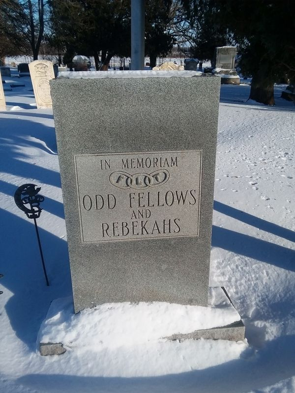 Odd Fellows and Rebekahs Memorial image. Click for full size.