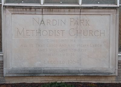 Nardin Park United Methodist Church image. Click for full size.