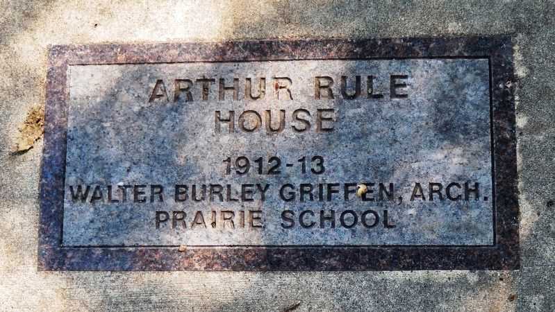 Arthur Rule House Marker image. Click for full size.