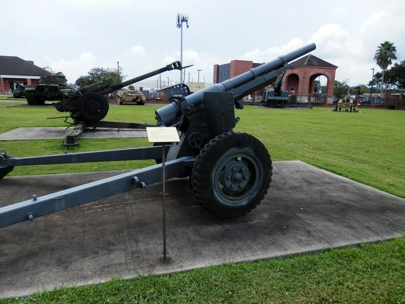 "M1897 ""French 75"" Field Artillery Gun Marker image. Click for full size."