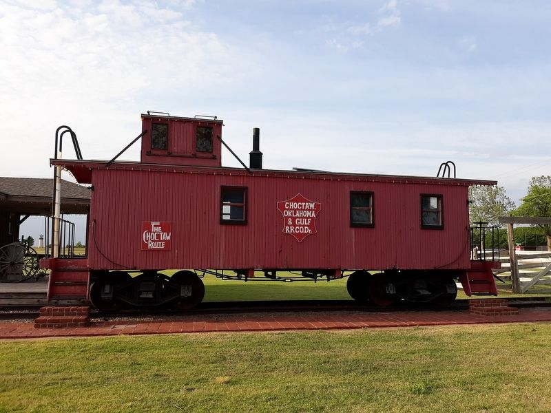 CO&G RR Caboose image. Click for full size.