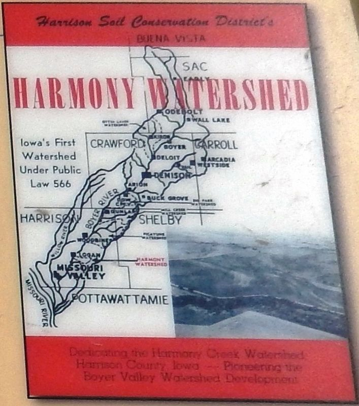 Marker detail: Harmony Watershed image. Click for full size.