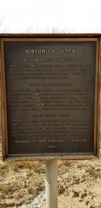 Historical Area Marker image. Click for full size.
