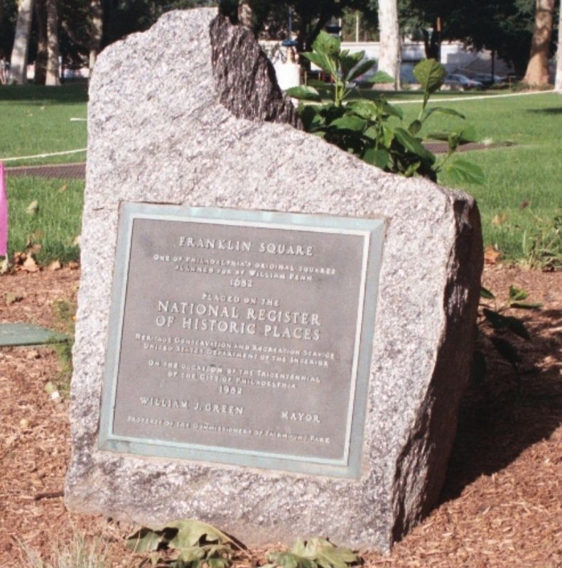 Franklin Square Marker image. Click for full size.