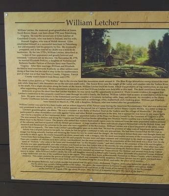 William Letcher Marker image. Click for full size.
