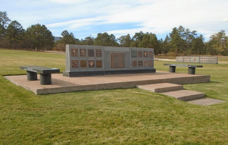1st Fighter Control Squadron Marker on Memorial Wall image. Click for full size.