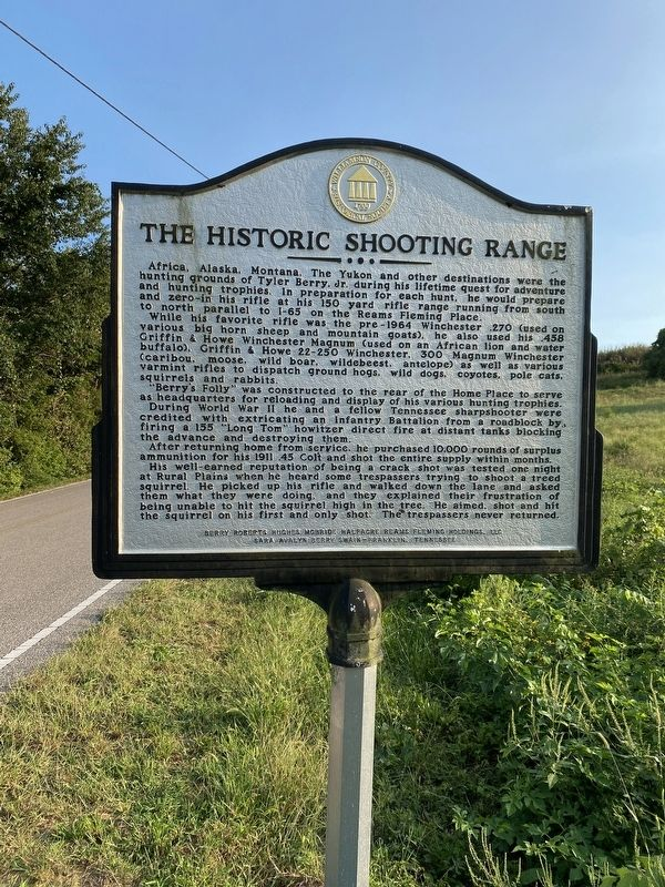 The Historic Shooting Range image. Click for full size.