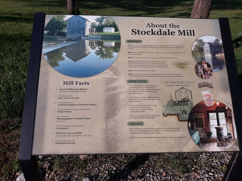 About The Stockdale Mill Marker image. Click for full size.