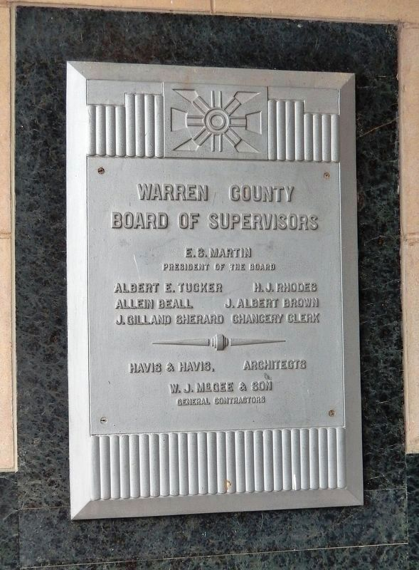 Warren County Board of Supervisors tablet image. Click for full size.