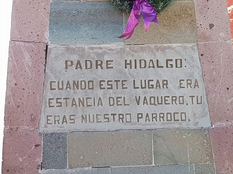 Father Hidalgo Marker image. Click for full size.