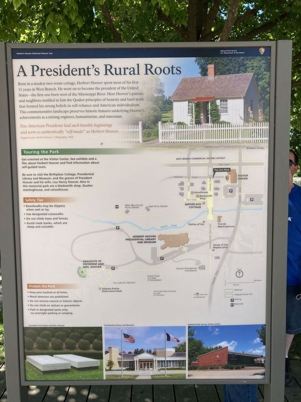 A President's Rural Roots Marker image. Click for full size.