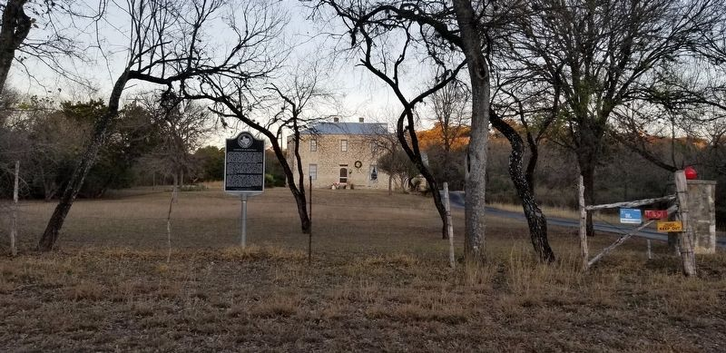 Marnoch Homestead and Marker image. Click for full size.