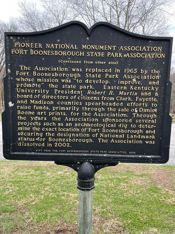 Pioneer National Monument Association Marker image. Click for full size.