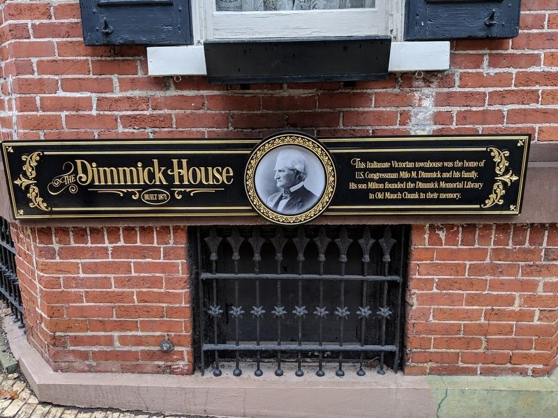 The Dimmick House Marker image. Click for full size.