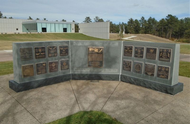 96 Bomb Group/Wing Marker on Memorial Wall image. Click for full size.