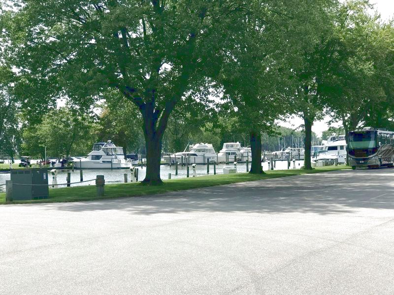 View of Some of the Boats Docked at the Yacht Club. image. Click for full size.