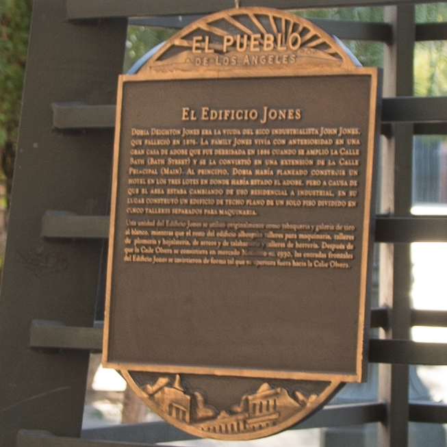 El Edificio Jones Marker
