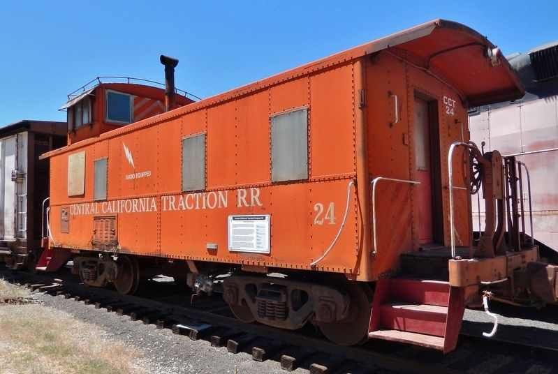 Central California Traction Company Caboose #24 image. Click for full size.