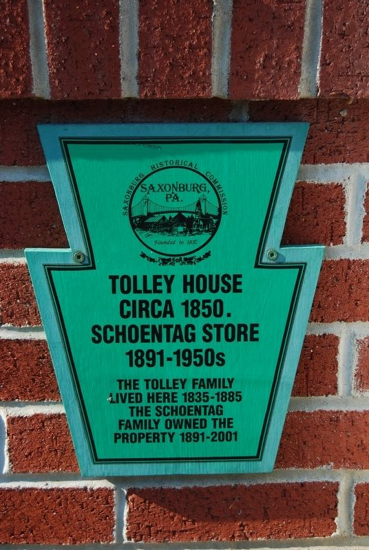 Tolley House Marker image. Click for full size.