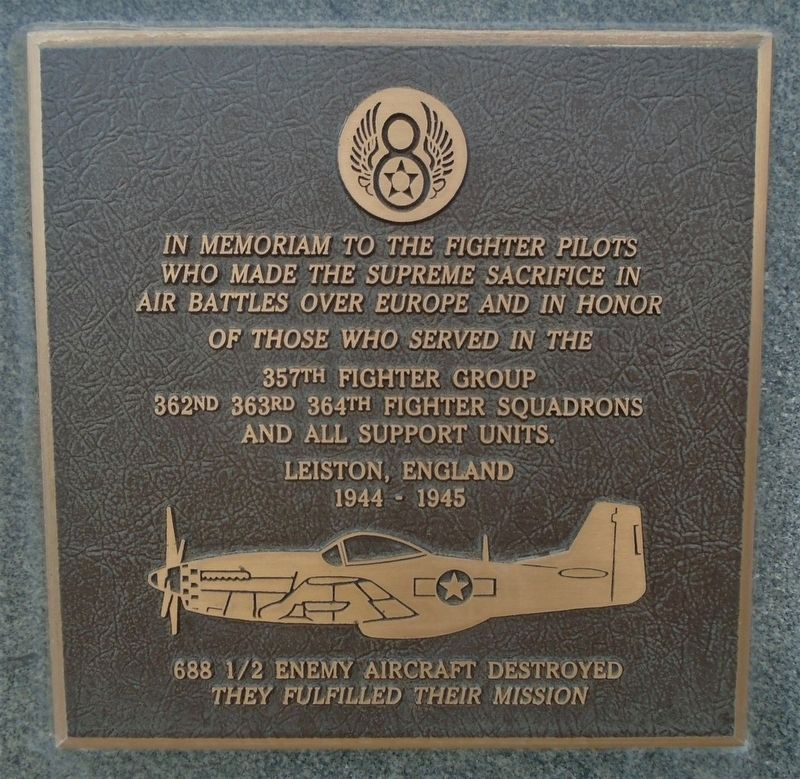 357th Fighter Group Marker image. Click for full size.