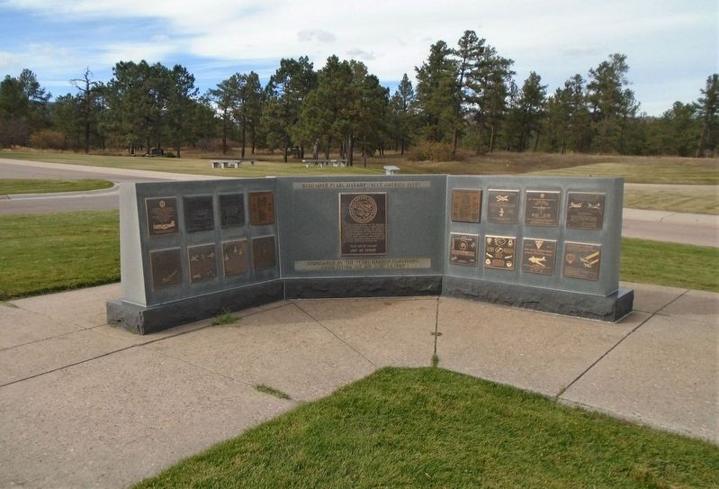 357th Fighter Group Marker on Memorial Wall image. Click for full size.