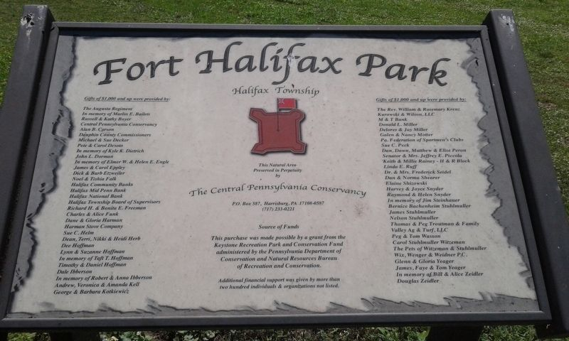 Fort Halifax Park image. Click for full size.