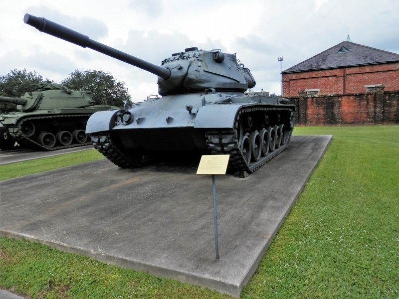 "M47 ""Patton"" Tank Marker image. Click for full size."