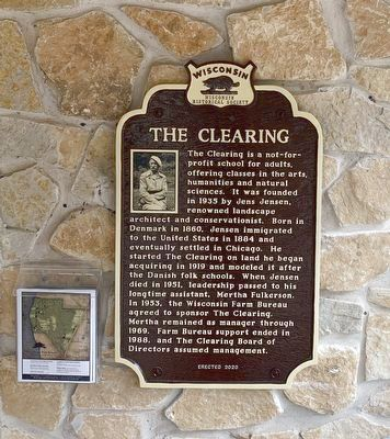 The Clearing Marker image. Click for full size.