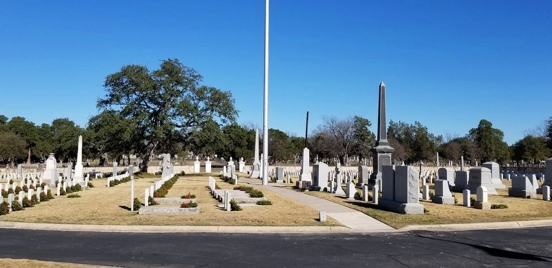 San Antonio National Cemetery image. Click for full size.
