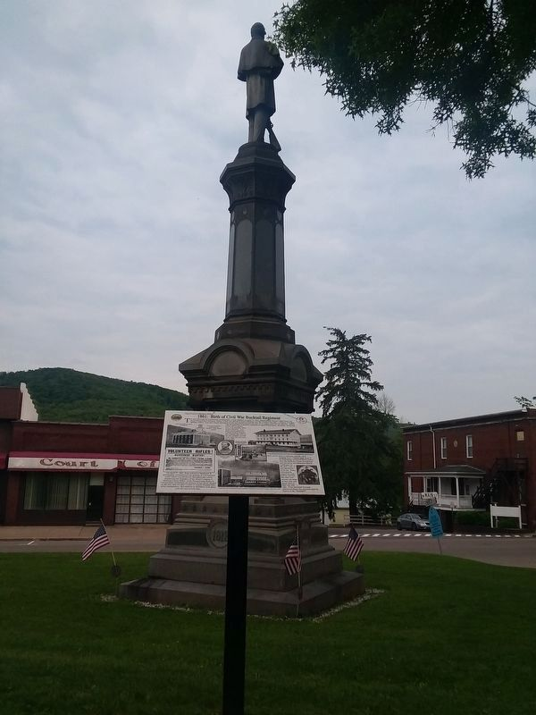 1861: Birth of Civil War Bucktail Regiment Marker image. Click for full size.