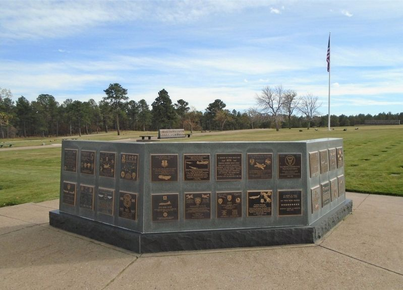 51st. Troop Carrier Wing Marker on Memorial Wall image. Click for full size.