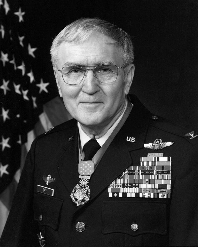 "Portrait of USAF Colonel George Everett ""Bud"" Day image. Click for full size."