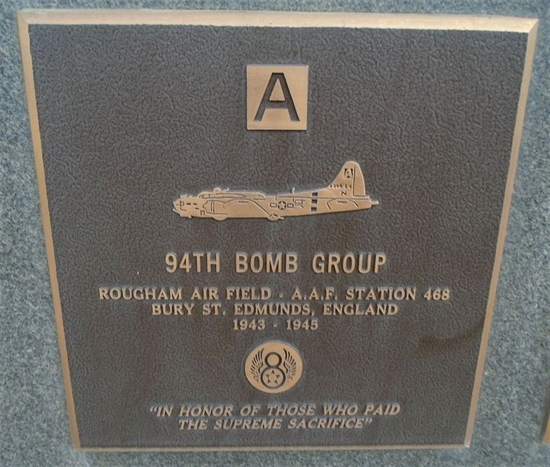 94th Bomb Group Marker image. Click for full size.