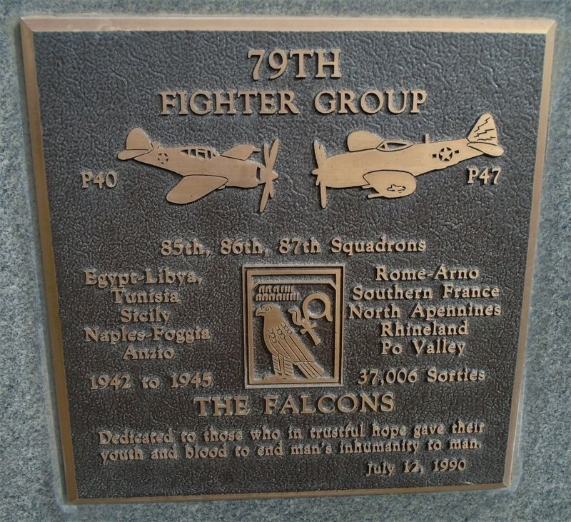 79th Fighter Group Marker image. Click for full size.