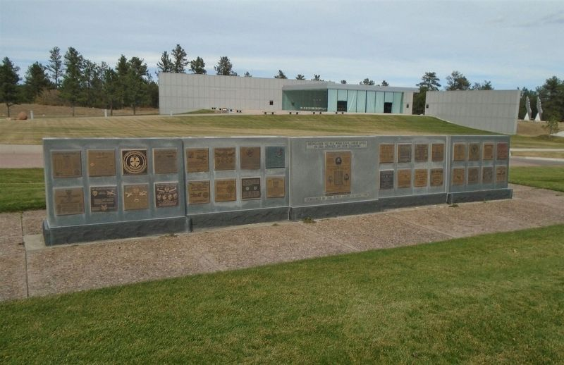 World War II Glider Pilots Marker on Memorial Wall image. Click for full size.