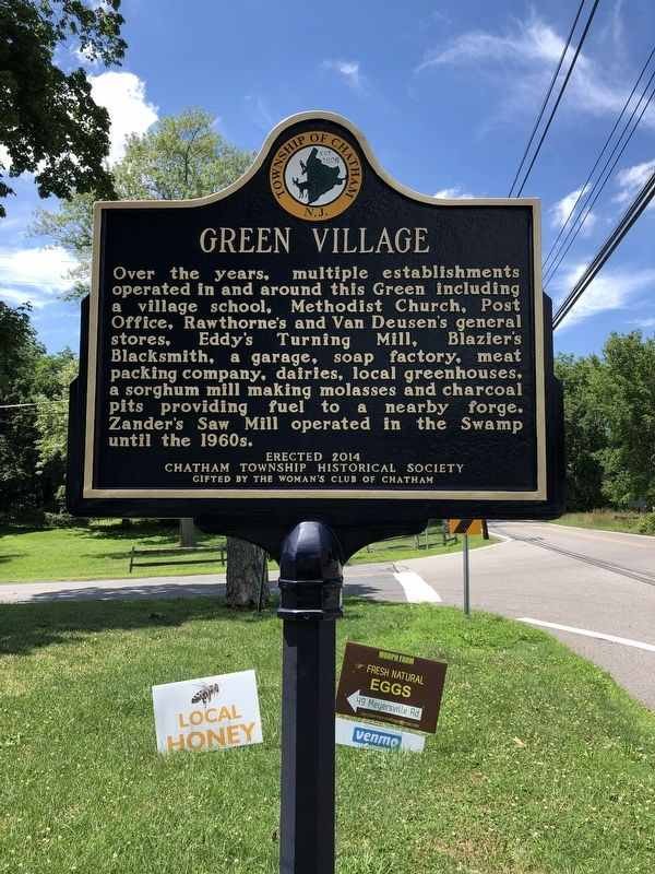 Green Village Marker image. Click for full size.