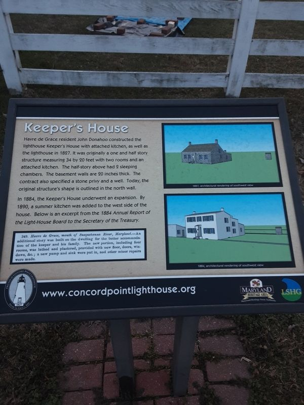 Keeper's House Marker image. Click for full size.