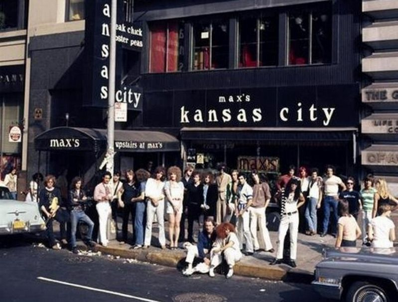 """Max's Kansas City 76"" album cover image. Click for full size."