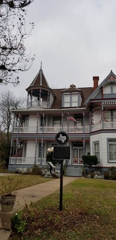 Ross-Carroll House and Marker image. Click for full size.