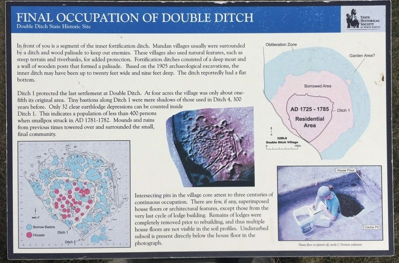 Final Occupation of Double Ditxh Marker image. Click for full size.