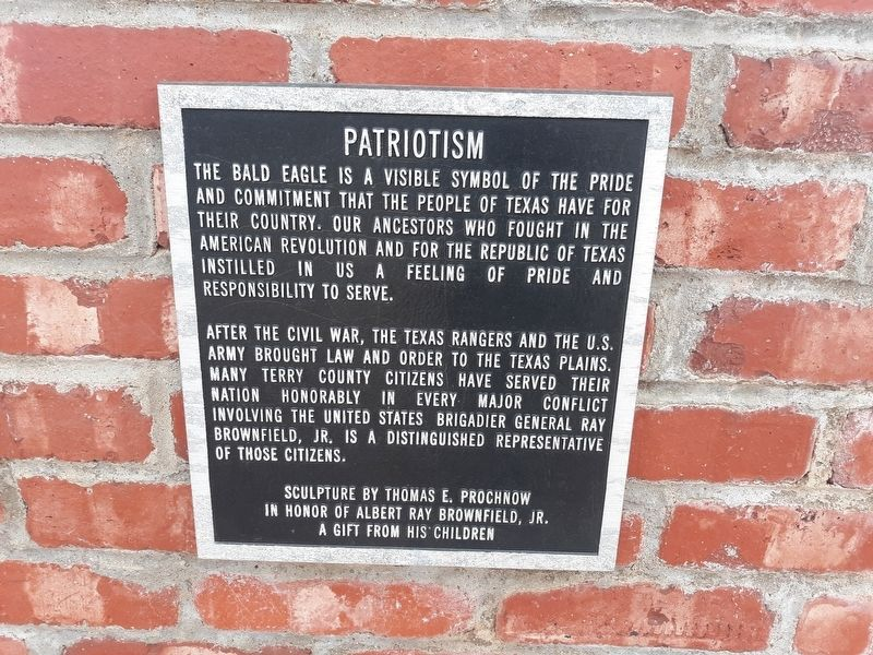 Patriotism Marker image. Click for full size.