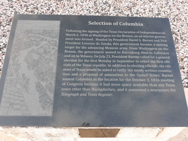 Selection of Columbia Marker image. Click for full size.