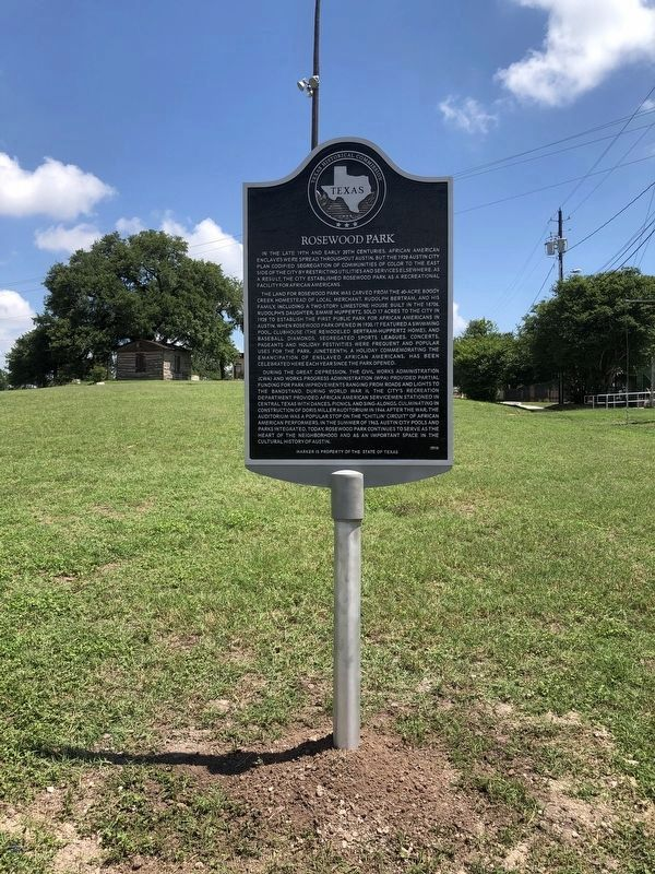 Rosewood Park Marker image. Click for full size.