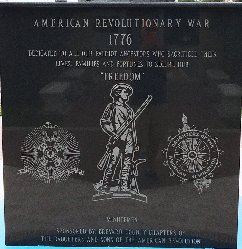 American Revolutionary War Marker image. Click for full size.