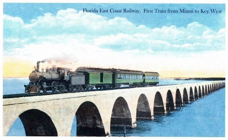 """First Train from Miami to Key West"" image. Click for full size."