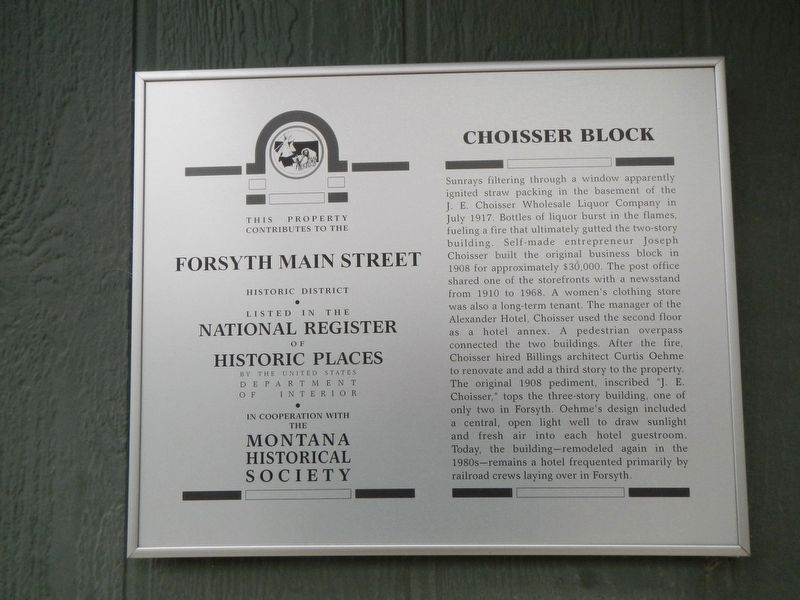 Choisser Block Marker image. Click for full size.