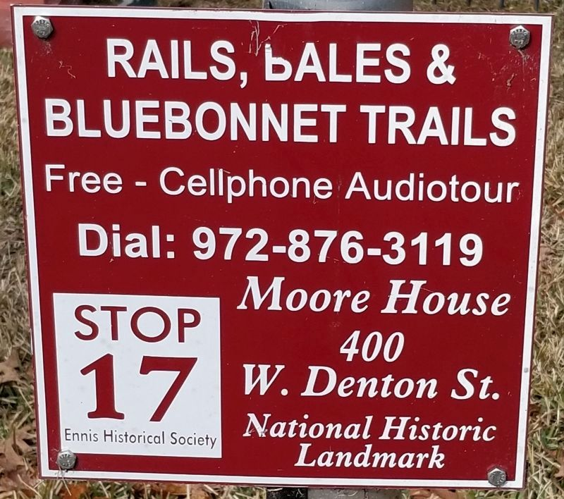 Details about the Moore House on dial up phone number image. Click for full size.