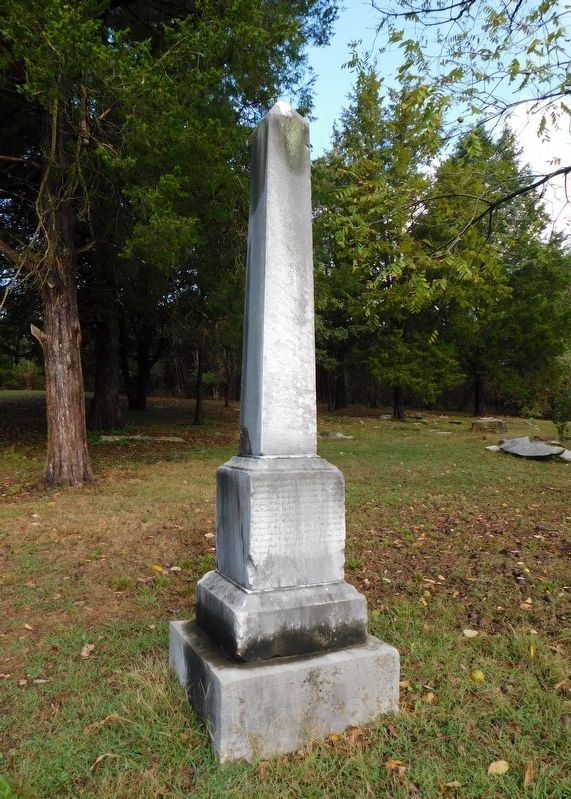 Battle of Dutton's Hill Monument image. Click for full size.