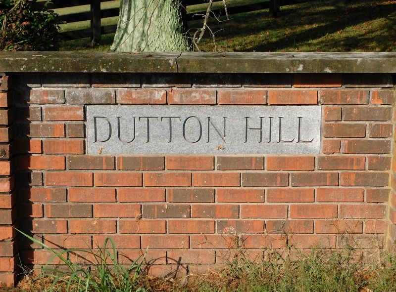 Entrance Sign at Dutton's Hill Development image. Click for full size.